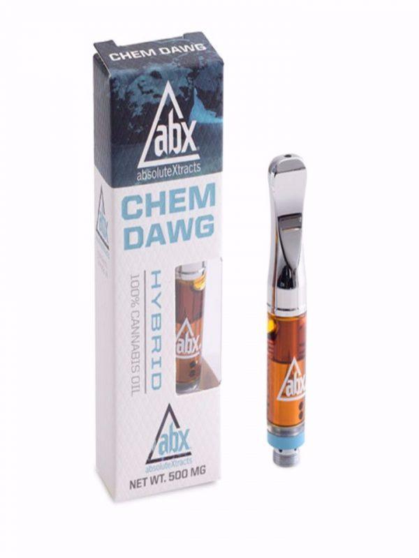 Chem dawg vape oil cartridge
